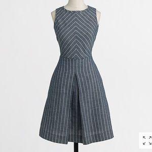 J. Crew Chevron Stripe Dress